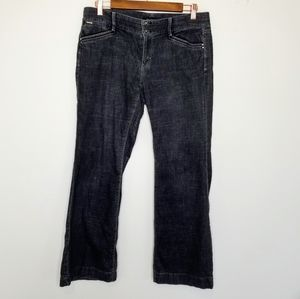 White House Black Market dark wash trouser jeans